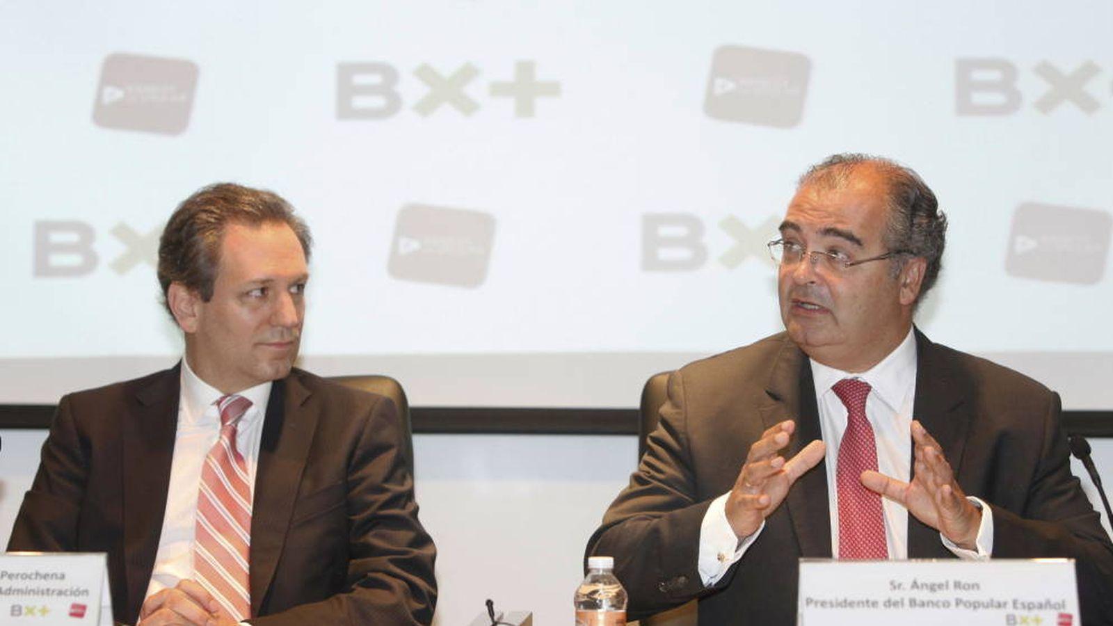Foto: Antonio del Valle hijo y Ángel Ron, en una imagen de archivo. (EFE)