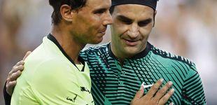 Post de Federer arrolla a Nadal en los octavos de final de Indian Wells