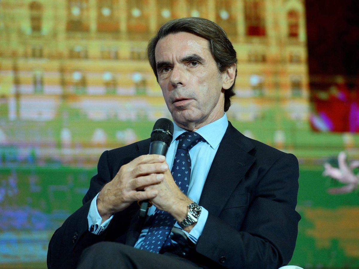 Foto: Aznar, en una imagen de archivo. (EFE)