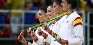 Post de La chica brasileña que lloraba con la plata de la gimnasia rítmica española