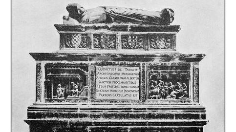 La razón por la que un obispo del siglo XVII fue enterrado con un feto