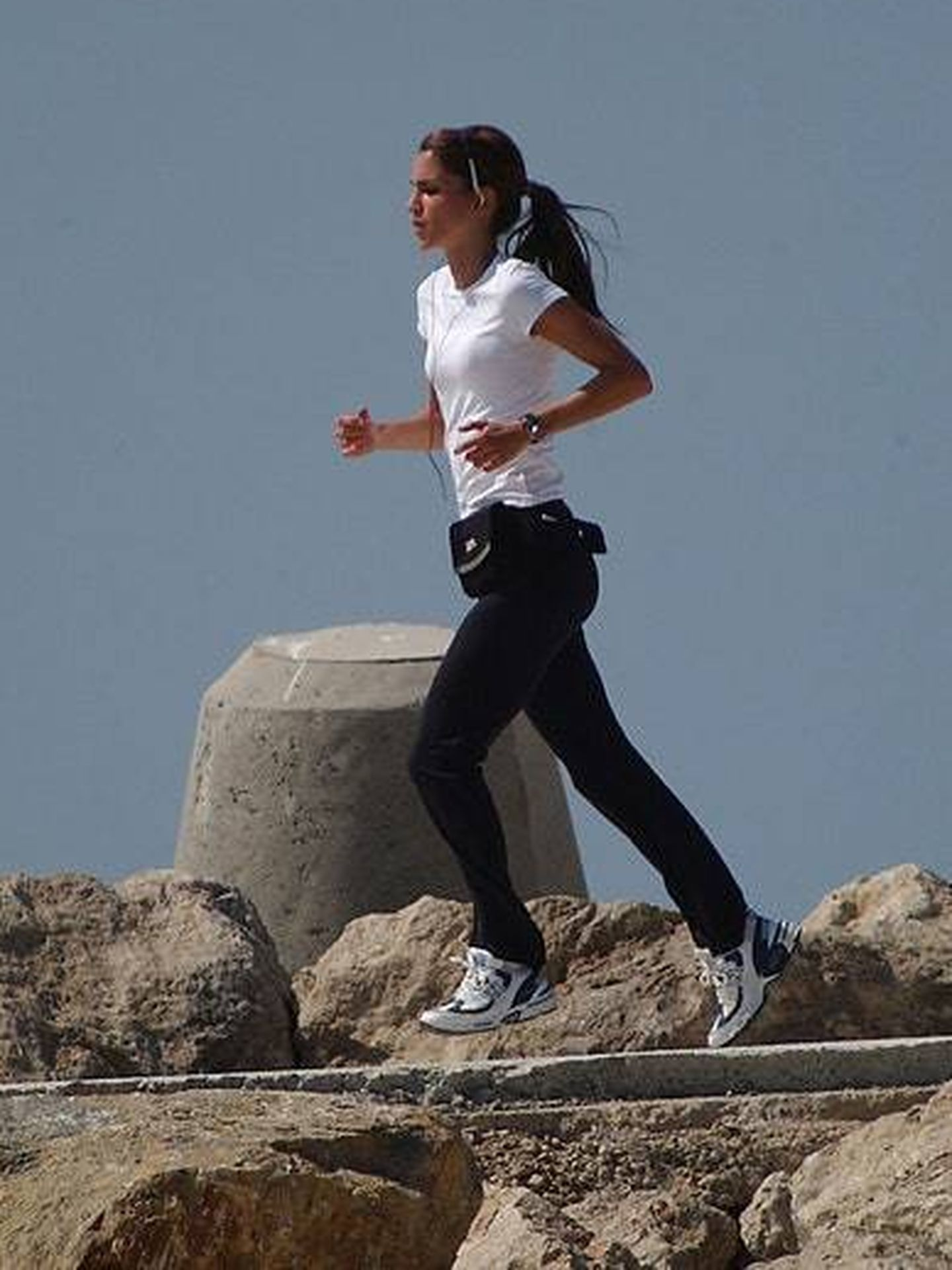Rania de Jordania, haciendo running. (Gtres)