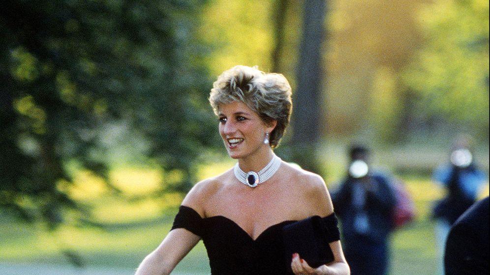 Foto:  Lady Di y el vestido de la venganza. (Getty)