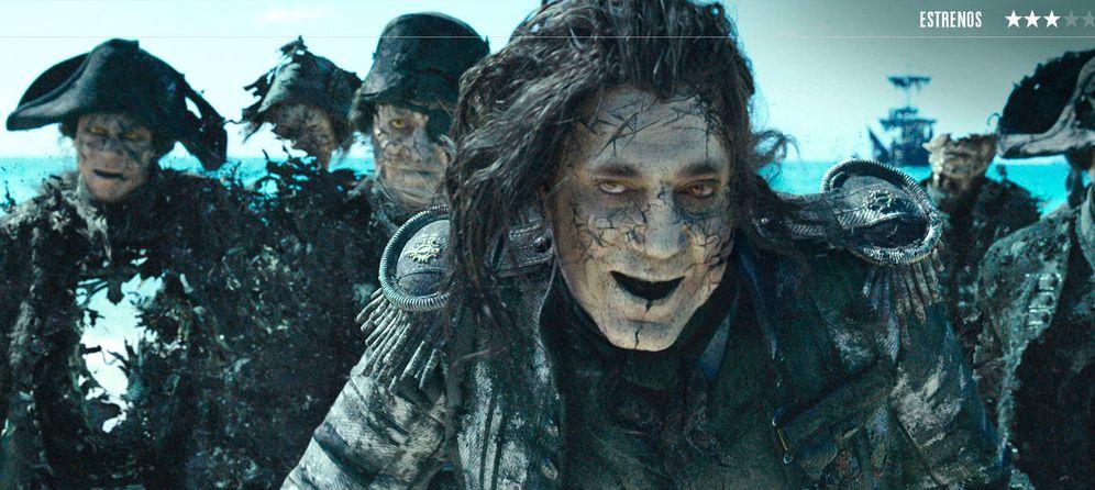 Foto: 'Piratas del Caribe: la venganza de Salazar'.