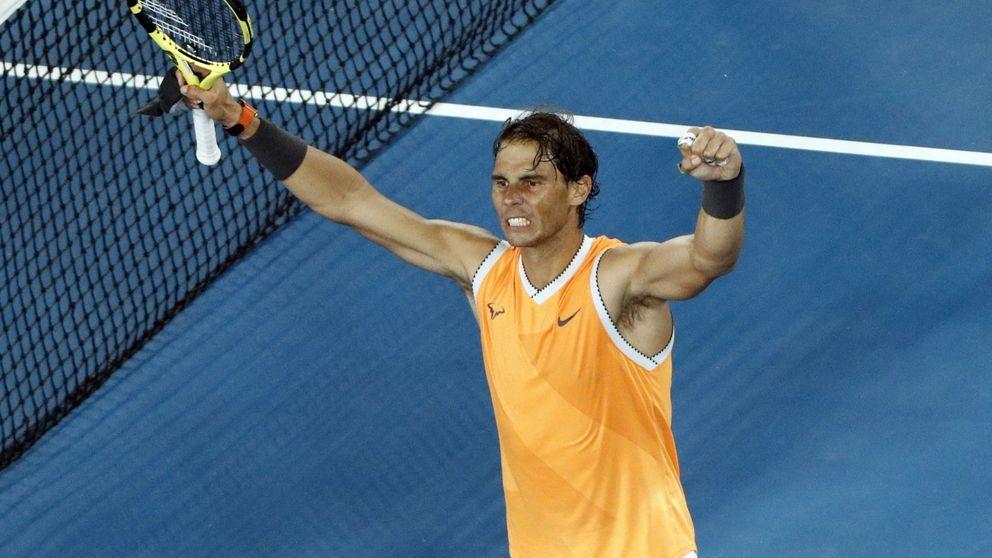 Rafa Nadal arrasa a Tiafoe en el Open de Australia: a los niños todavía les queda...