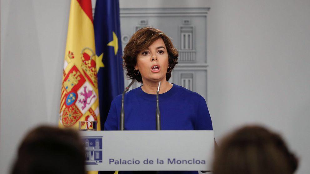 El Gobierno acusa a Forcadell de ir contra la democracia y recurre a la vía penal