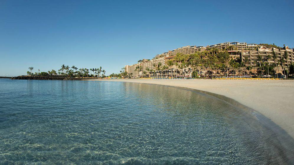 Foto: El complejo hotelero de Anfi del Mar.