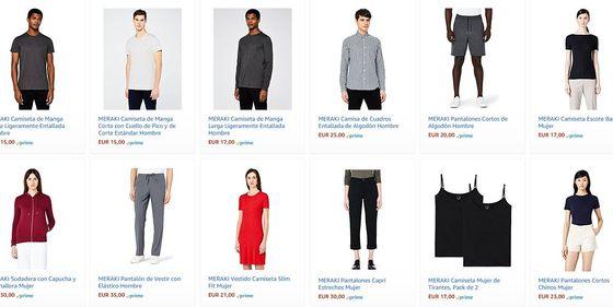 ab0c2ca5559 Amazon  Amazon estrena marca blanca de moda en Europa y pone en guardia al  sector textil