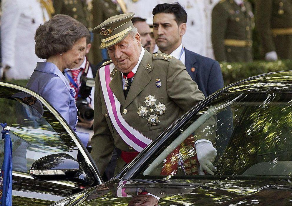 Foto: Los Reyes de España, Don Juan Carlos y Doña Sofía (EFE)