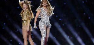 Post de Los lookazos de Shakira y JLo en la Super Bowl: treinta mil cristales y sabor latino