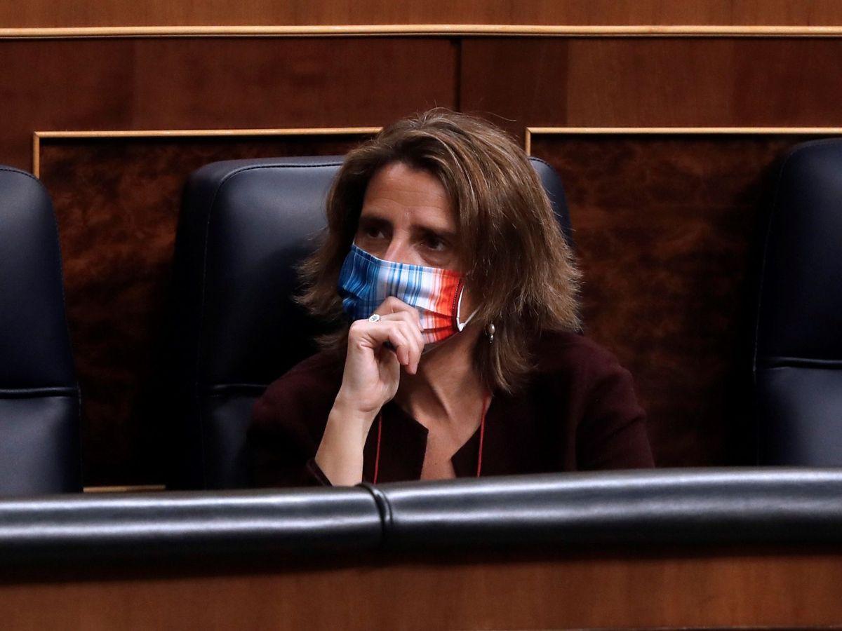 Foto: La vicepresidenta cuarta del Gobierno y ministra para la Transición Ecológica y el Reto Demográfico, Teresa Ribera. (EFE)