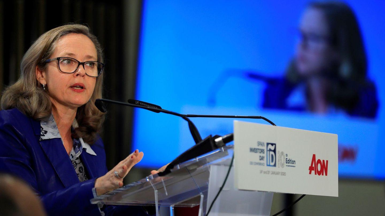 La vicepresidenta del Gobierno y titular de Economía, Nadia Calviño. (EFE)