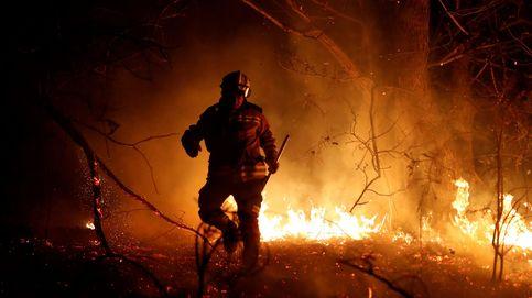 Arde el norte: 97 incendios en Asturias y más de 20 en Cantabria y País Vasco