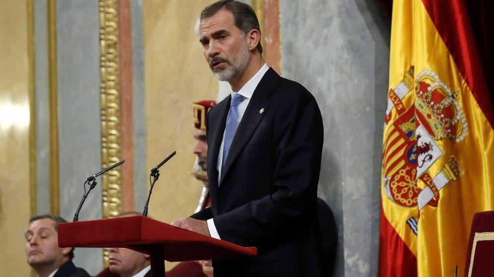 Foto: El Rey Felipe VI. (EFE)