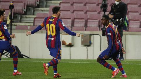 El Barça aprovecha el pinchazo del Atleti y se pone a 1 punto a falta de 9 jornadas (1-0)