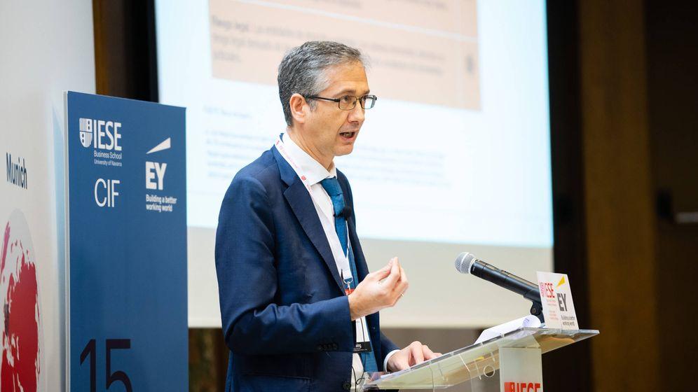 Foto: Pablo Hernández de Cos, gobernador del Banco de España (IESE)