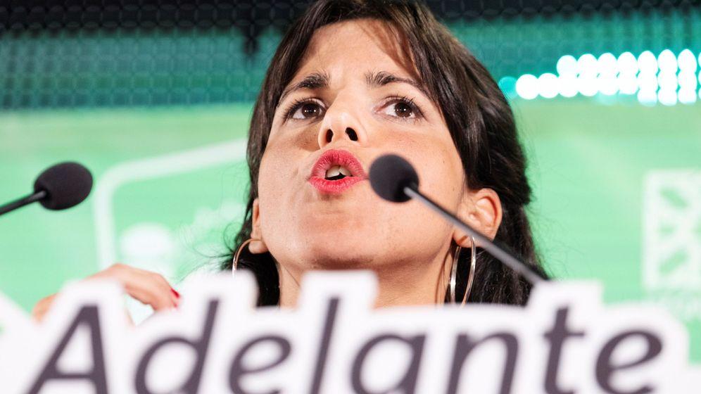 Foto: La candidata a la presidencia de la Junta de Andalucía por Adelante Andalucía, Teresa Rodríguez. (EFE)