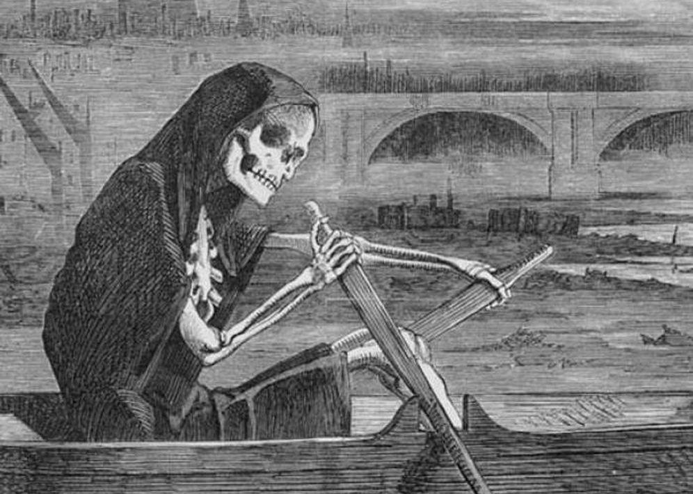 Foto: 'Muerte sobre el Támesis' (Alegoría)