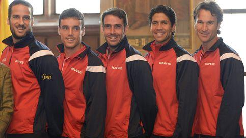 Suspendida la presentación de las nuevas equipaciones de Copa Davis