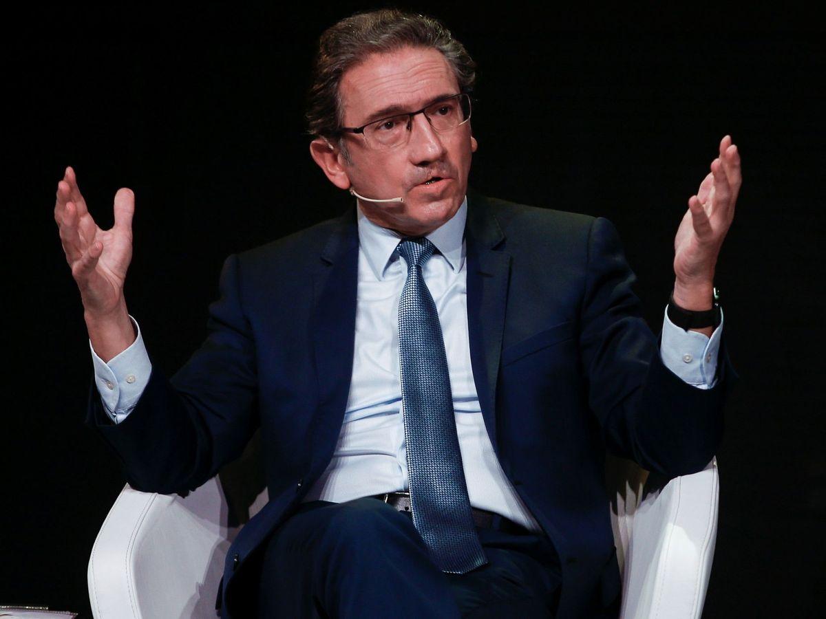 Foto: El responsable económico de la candidatura de Joan Laporta, Jaume Giró. (EFE)