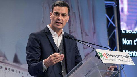 Sánchez afirma en Italia que en España el extremismo cotiza a la baja