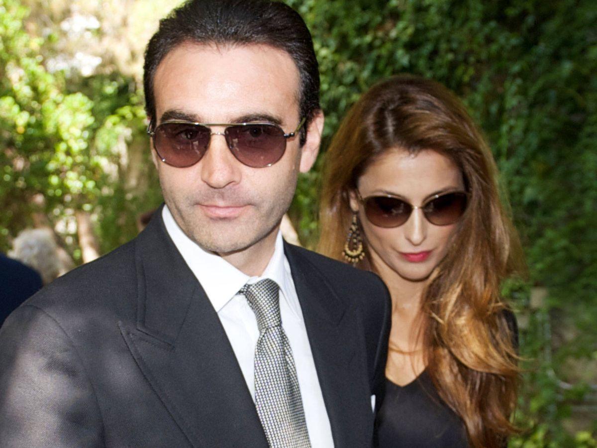 Foto: Paloma Cuevas y Enrique Ponce en una imagen de archivo. (Getty)