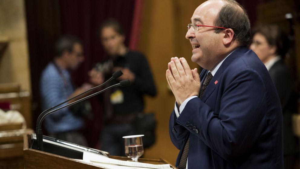 Iceta exige a Puigdemont que reconozca que no se celebrará el referéndum