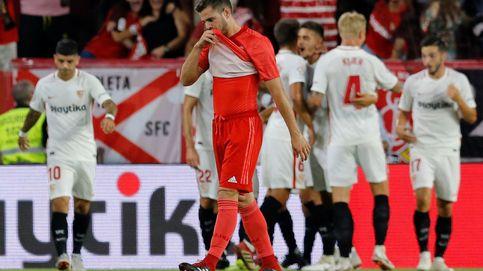 Sevilla - Real Madrid (3-0): hundimiento en el Pizjuán y lesión de Marcelo