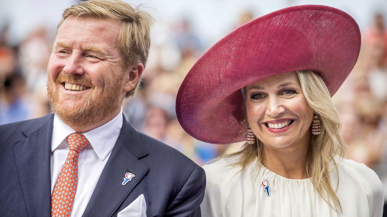 Guillermo y Máxima de Holanda, este fin de semana en Terneuzen. (EFE)