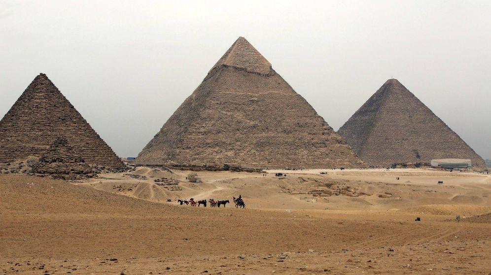 Foto: Pirámides de Egipto. (EFE/Khaled Elfiqi)