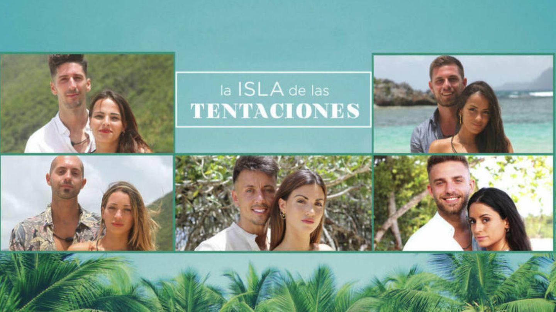 Foto promocional de las parejas de 'La isla de las tentaciones'. (Mediaset España)