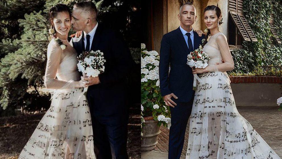 Eros Ramazzotti celebra su boda con una gran fiesta