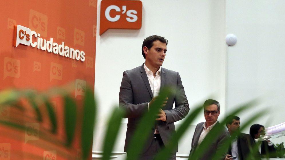 Foto: El candidato a la presidencia del Gobierno del partido Ciudadanos, Albert Rivera (Efe)