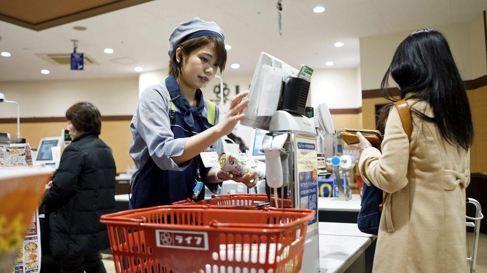 Foto: Un supermecado en Japón, en una imagen de archivo. (EFE)