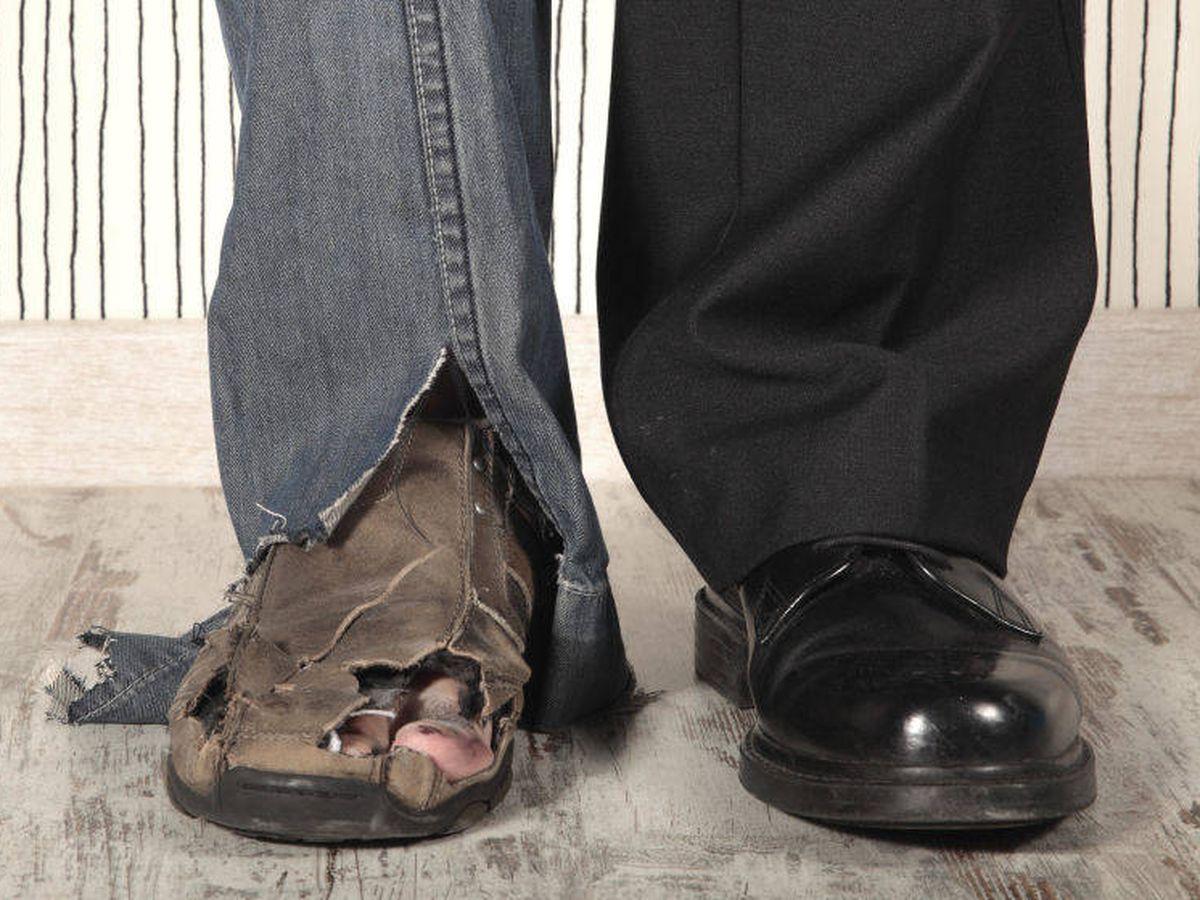 Foto: La desigualdad entre españoles ricos y pobres ha aumentado. (iStock)