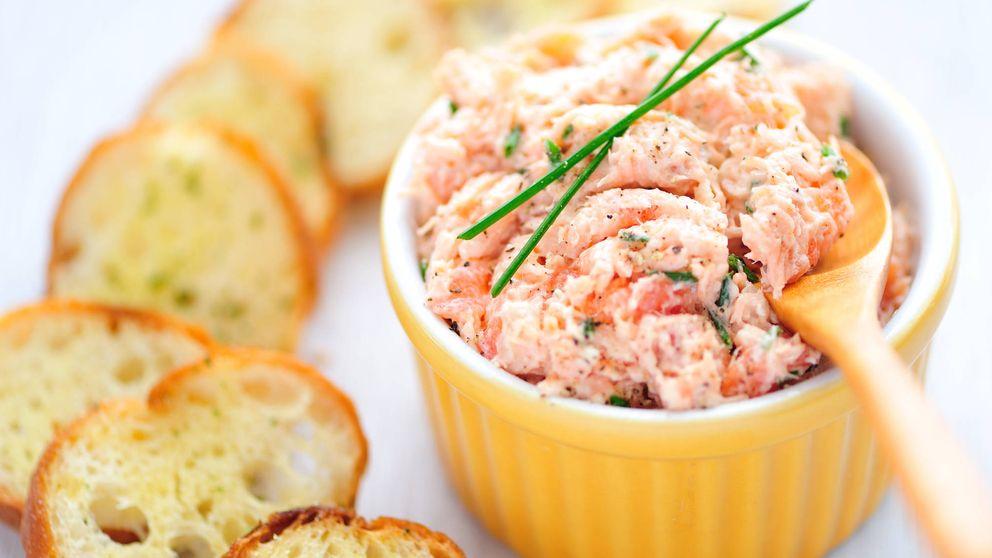 Paté de salmón en unos minutos, ¡no hay excusas!