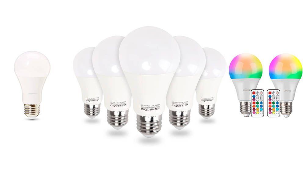 Foto: Las mejores bombillas de led del mercado para iluminar tu hogar con más eficiencia