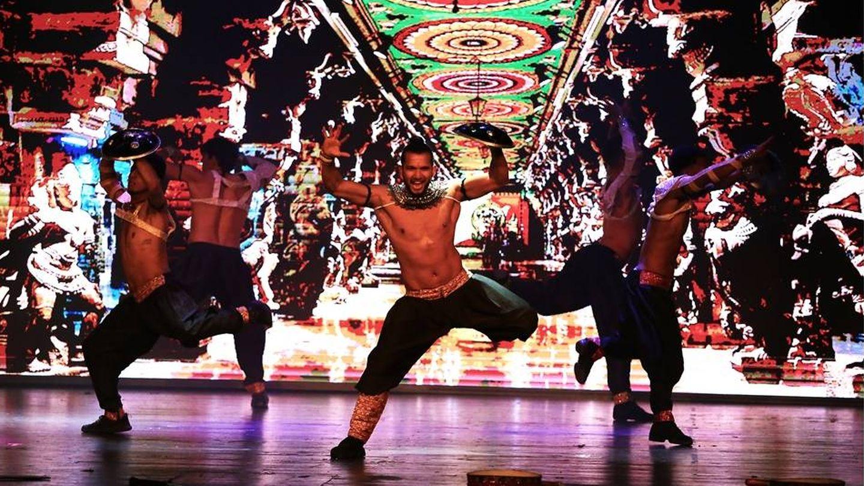 En el espectáculo se utilizan más de 300 piezas de vestuario creadas especialmente para el musical (Sunny Singh Dance Company)