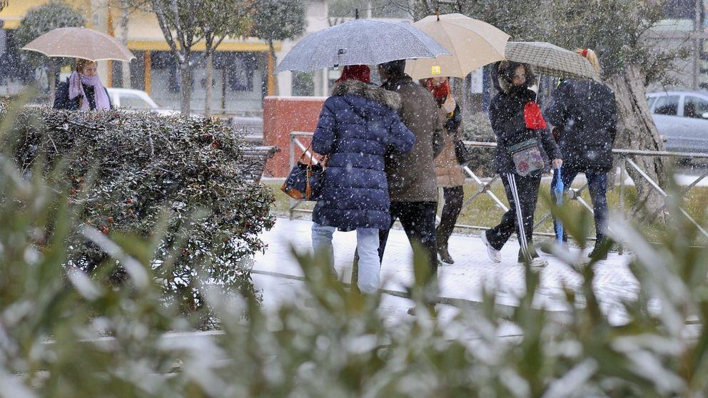 Una ola de frío complica el tiempo el fin de semana: bajo cero y nieve en cotas bajas