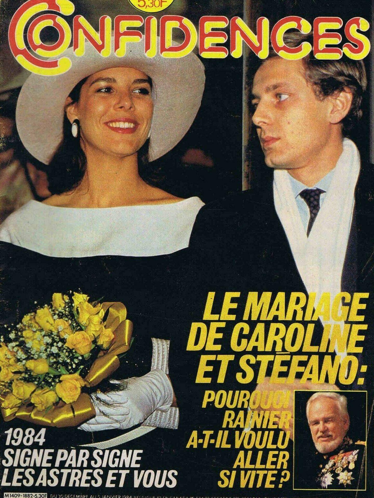 Una de las portadas de la época, que se planteaba por qué la boda había tenido lugar tan rápido.