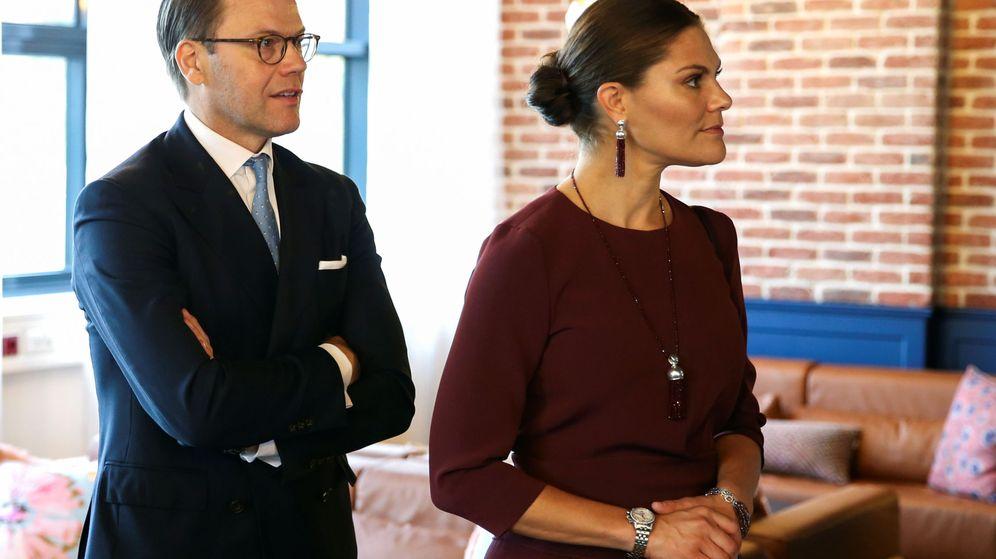 Foto: La princesa Victoria y el príncipe Daniel, en una imagen de archivo. (Reuters)