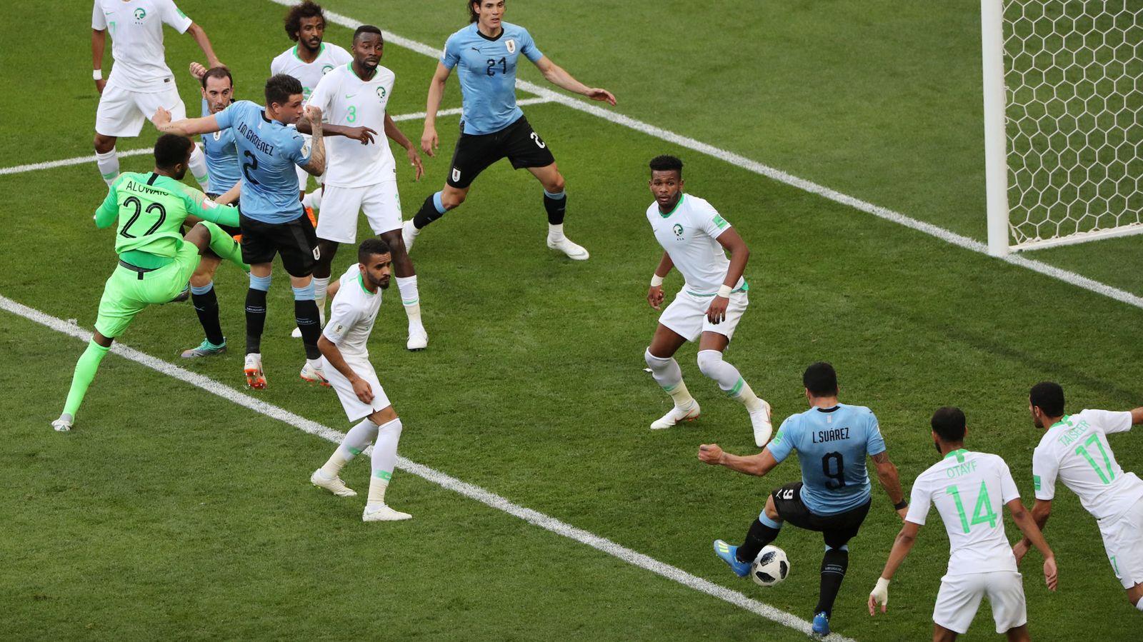 Foto: Uruguay contra Egipto en directo