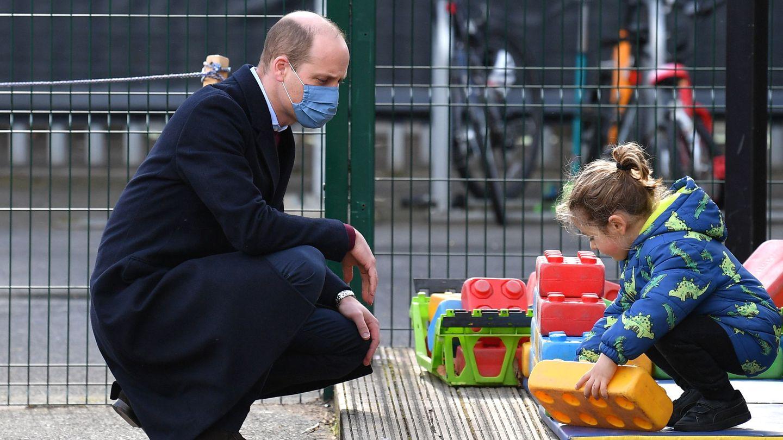 El príncipe Guillermo, este jueves. (Reuters)