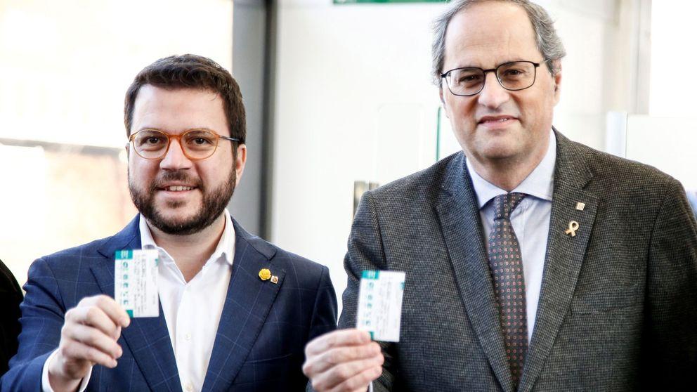Aragonès se aleja del PSC y pide una gran victoria del independentismo en las urnas