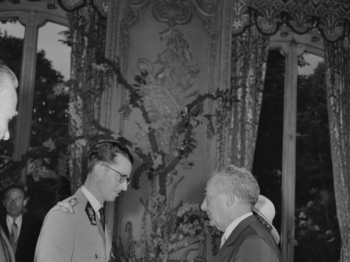 Foto: El rey Balduino de Bélgica en una imagen de archivo de 1961. (Cordon Press)