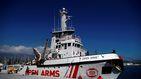 Open Arms urge a España a encontrar un puerto seguro ante la amenaza italiana