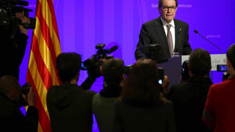 Foto: El presidente de la Generalitat, Artur Mas (EFE)