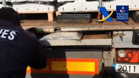 Camiones con doble fondo para transportar droga