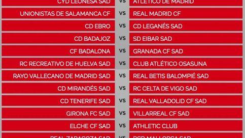 Los 1/16 de Copa del Rey: Unionistas-Madrid, Ibiza-Barcelona y Cultural-Atlético