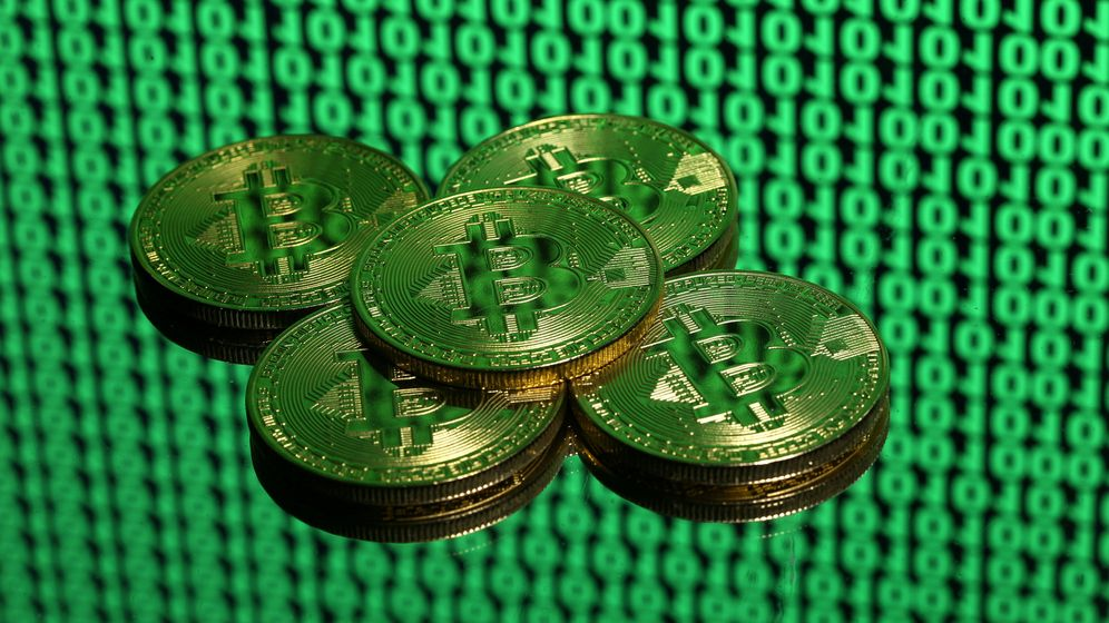 Foto: Monedas de Bitcoin. (Reuters)